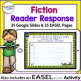 for GOOGLE CLASSROOM READING RESPONSE ACTIVITIES | FICTION (CCSS & New TEKS)
