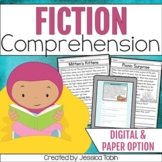 Reading Comprehension Passages and Questions (Fiction)