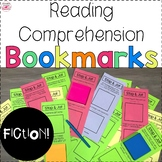Fiction Reading Comprehension Bookmarks