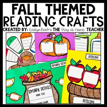 FALL Fiction Reading Comprehension Craftivities
