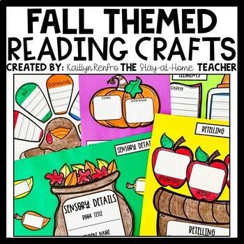 Fall Reading Craftivities