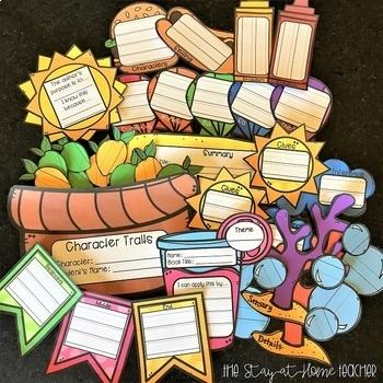 Summer Reading Craftivities