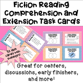 Fiction Reading Comprehension & Extension Task Cards [LOW PREP]