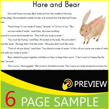 Fiction Reading Comprehension Passages & Questions | Part 1/4 | Grade 4