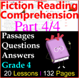 Fiction Comprehension Passages & Questions | Part 4/4 | Grade 4
