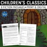 Fiction Reading Comprehension Passages and Questions