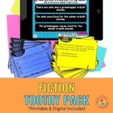 Fiction Reading Comprehension Toothy® Pack | Printable and