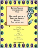 Fiction Reading Comprehension Unit for Third Grade