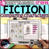 Fiction Reading Crafts Set 2: Character Traits Graphic Organizers & Activities