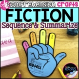 Fiction Reading Crafts Set 3: Sequencing and Summarizing Activities