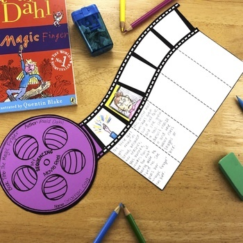 Fiction Reading Crafts Set 3: Sequencing and Summarizing Fiction Activities