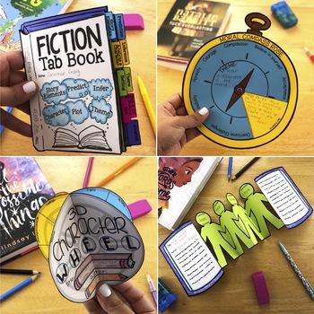 Fiction Reading Crafts: The Bundle