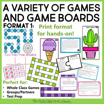 Fiction Reading Games   Reading Centers