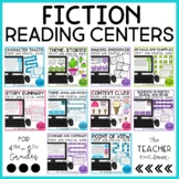 Fiction Reading Games Bundle Print and Digital Distance Learning