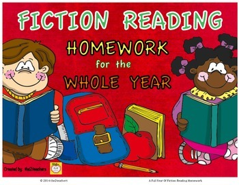 3rd Grade Reading Homework for the YEAR - Fiction, Reading Literature