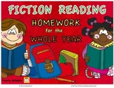 3rd Grade Reading Homework for the YEAR - Fiction, Reading