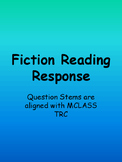 Fiction Reading Level Question Stems Oral or Written Comp.