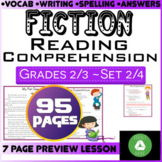 Fiction Reading Passages | Set 2/4 | 95 Pages | Grade 2-3