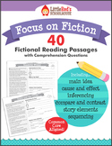 Reading Comprehension Passages  - Fiction