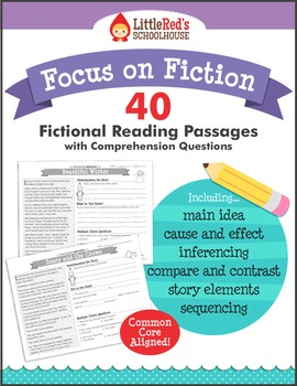Reading Comprehension Passages  - Fiction