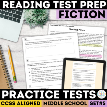 Reading Comprehension Passages with SBAC Questions