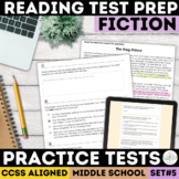 Reading Comprehension Passages   Fiction   SBAC Questions