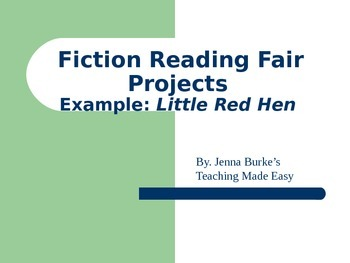Fiction Reading Fair Project