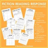 Fiction Reading Response Graphic Organizers