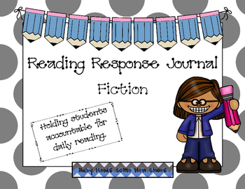 Fiction Reading Response Journal