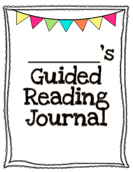Fiction Reading Response Weekly Journal