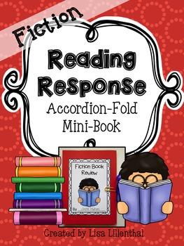 Fiction Reading Response ~ an Accordion-Fold Mini-Book Activity