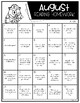 Fiction Reading Responses by month