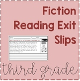Fiction Reading Skills: Exit Slips - Aligned with Lucy Calkins