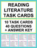 Reading Literature Task Cards