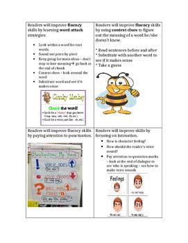 Fiction Reading Strategies