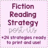 Fiction Reading Strategy Post-Its