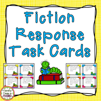 Fiction Response Task Cards