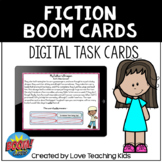 Fiction Review Boom Cards Digital Task Cards for Distance