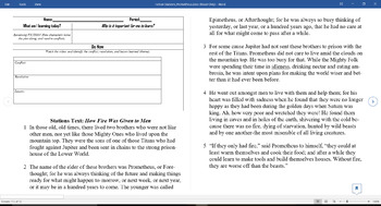 Fiction Review Stations and Quiz (multiple choice) STAAR aligned questions
