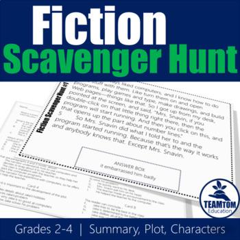 Fiction Scavenger Hunt 1