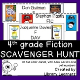 Fiction Scavenger Hunt for Fourth Grade Readers