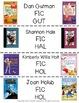 Fiction Scavenger Hunt for Third Grade Readers