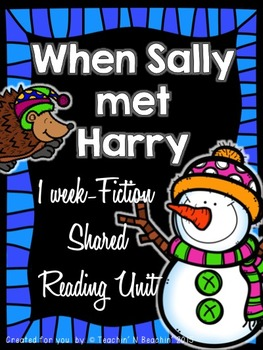 Shared Reading: Fiction Shared Reading Plans- Winter- Common Core Aligined