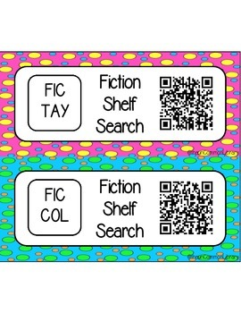 Fiction (FIC) Shelf Search for your Library Media Center