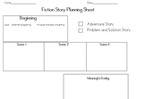 Fiction Story Scene Planner