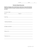 Fiction Story Structure Worksheet