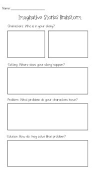 Fiction Story Template