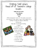 Reading Fiction Small group instruction and assessments
