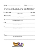Fiction Summary Graphic Organizer