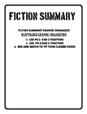 Fiction Summary Graphic Organizers
